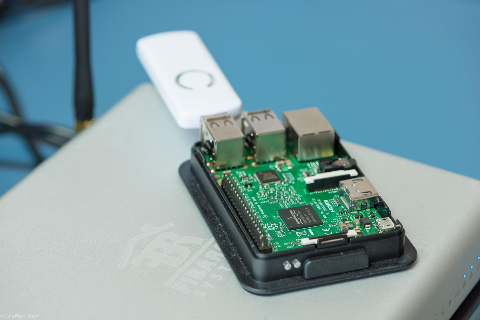 Smart Home Zentrale auf Basis eines Raspberry Pi